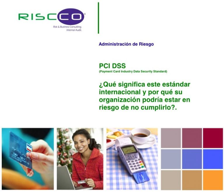 payment card industry data security standard pci dss ¿qué